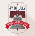Independance Day Banner vector image