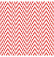 red zigzag pattern seamless background vector image vector image