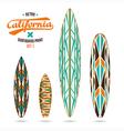 Retro vintage prints for surfboards