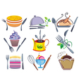 Set of icons and elements for ood vector image vector image