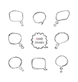 Speech Bubbles Part II vector image vector image