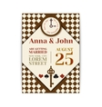 Wedding Party in Wonderland Save the date vector image