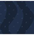 Night winter seamless pattern snowflakes seamless vector image