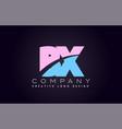 bx alphabet letter join joined letter logo design vector image vector image