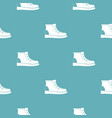 hiking boots pattern seamless vector image vector image