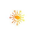 intellegence share logo icon design vector image vector image