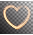 Special light flare effect vector image