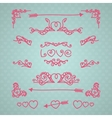 Vintage Love vector image