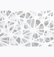white abstract background design vector image vector image