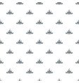 castle pattern seamless vector image vector image