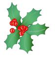 Christmas garland vector image vector image