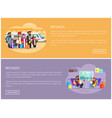 refugees try to leave country train web pages vector image vector image