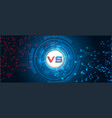 rgbversus screen fight backgrounds vector image vector image