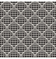 Seamless Black And White Retro Circles Grid vector image vector image