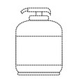 soap bottle isolated icon vector image vector image