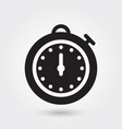stopwatch icon sports watch icon speed symbol vector image