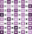 20 home icons vector image vector image