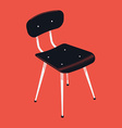 Chair Icon vector image vector image