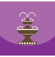 flat icon design collection chocolate vector image vector image