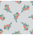 floral flavor pattern vector image vector image