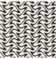 Hand Drawn Vertical ZigZag Lines Abstract vector image