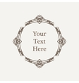 ornate richly decorated vintage frame vector image