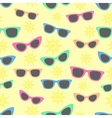 Summer and sunglasses vector image