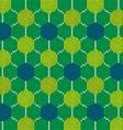 knitted soccer fan scarf brazil 2014 vector image