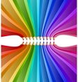 Abstract background with art pencils vector image vector image