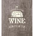 cask of wine vector image