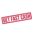 Get Fast Cash rubber stamp vector image vector image
