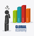 Global economy money and business