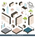 Isometric Icon Set vector image
