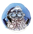 Merry Christmas Santa Claus vector image