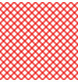 red plaid checkered gingham pattern vector image