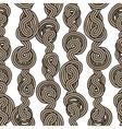 Rope tangled seamless pattern
