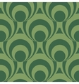 Seamless background pattern with rounds vector image vector image