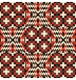 Seamless pattern Mosaic vector image