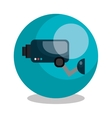 security cam design vector image