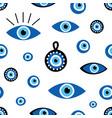 Turkish blue eye-shaped amulets nazar pattern