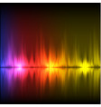 abstract equalizer background purple-red-yellow