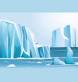 arctic landscape iceberg