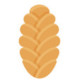 challah icon bakery and baking related vector image