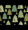 christmas camouflage textures vector image vector image