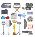 Cinema movie making tv show tools equipment