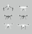 Drones set vector image vector image