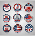 happy independence day american vector image vector image