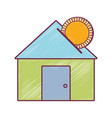 house to save cash money economy vector image vector image