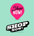 shop now pink maker point collection vector image