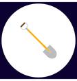Shovel computer symbol vector image vector image